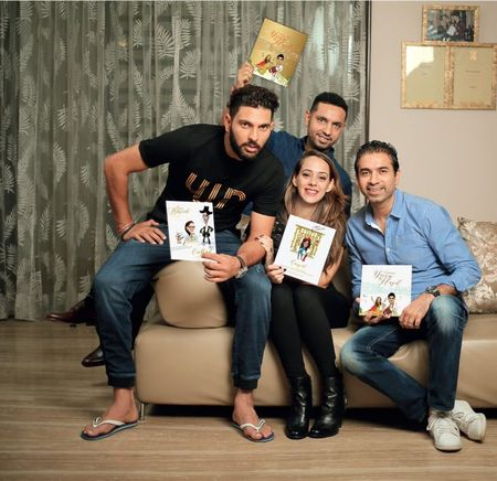 Yuvraj Singh's Super Fun Wedding Card Is Here And We Are Loving It! (Psst, It Has Everything To Do With Cricket!)