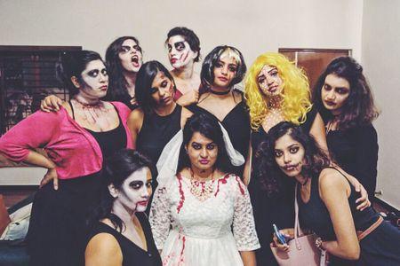 A Halloween Themed Bachelorette That Was Killer Fun!