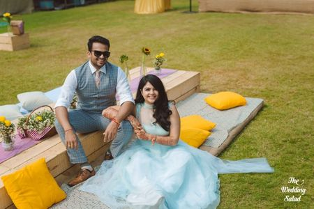 A Rustic Chic Alibaug Wedding With Adorable Decor Details