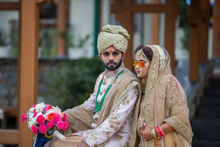 Dreamy Mussorie Wedding With a Vintage Touch!
