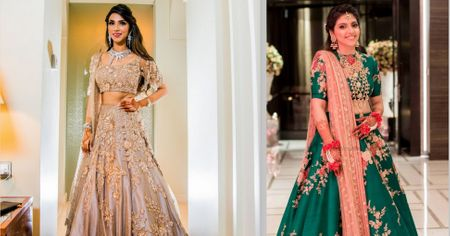 Awesome Offbeat Lehenga Colours for the Morning Bride! *No Pinks and Peaches!