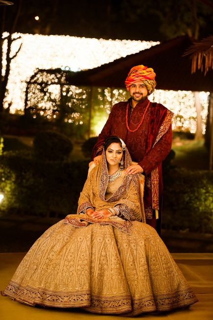 Regal Delhi Wedding With A Beautifully Styled Bride!