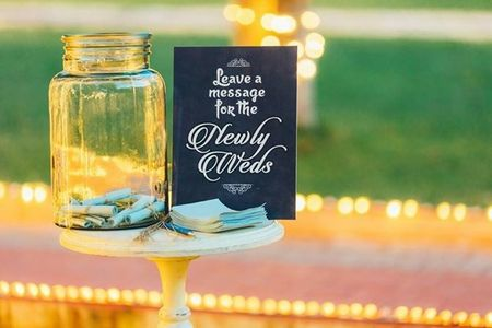Goodbye Guest Book! We Found A Few Amazing Alternatives For Your Guests To Be Part Of Your Wedding!