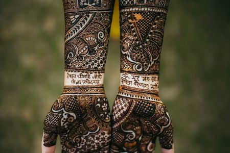 6 Mehendi Designs That Brides Are Going Crazy About For All The Right Reasons!