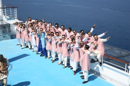 These Guys Got Married on a Cruise , Inspired by Dil Dhadakne Do...