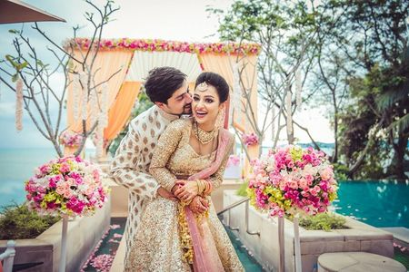 The Cutest Couple Photos We Spotted at Real Weddings!