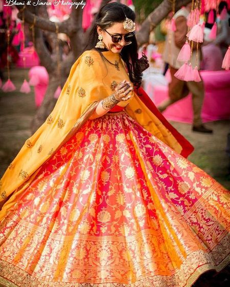 These Are The Most Gorgeous Banarasi Lehengas Worn By Our Favourite Brides!