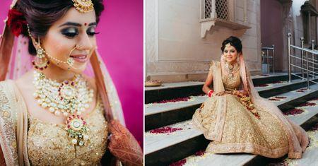 Sweet Delhi Wedding With A Dash Of Sparkle !