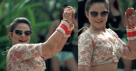 This Bride Dancing To Cheap Thrills While Getting Ready Is What You Need On A Sunday !