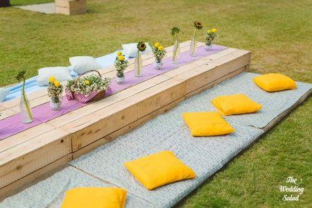 #Trending: Floor Seating For Outdoor Events