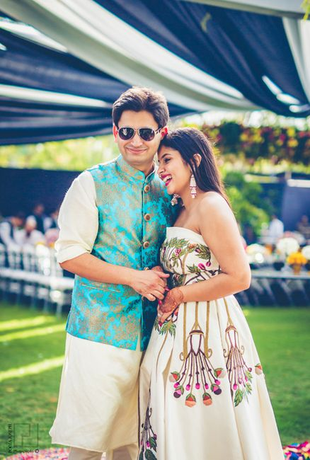 Whimsical Baroda Wedding With A Uniquely Styled Bride