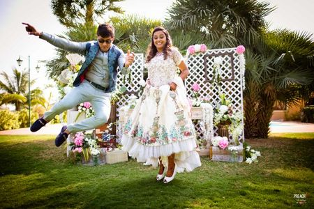 Pretty Ahmedabad Boho Brunch Wedding With All The Vintage Feels!