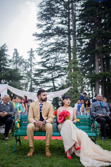 Pretty DIY Boho Wedding In The Hills Of Dalhousie!