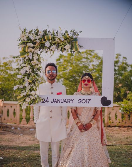 Gorgeous Bhuj Wedding With A Pastel Bride And Beautiful Views!