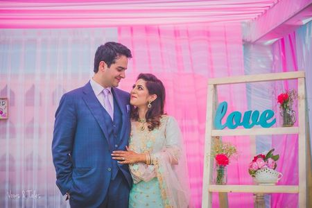 Dreamy Punjab Wedding With A Delicate Vintage Touch!