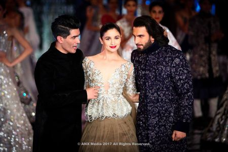 Manish Malhotra's New Bridal Collection At India Couture Week 2017
