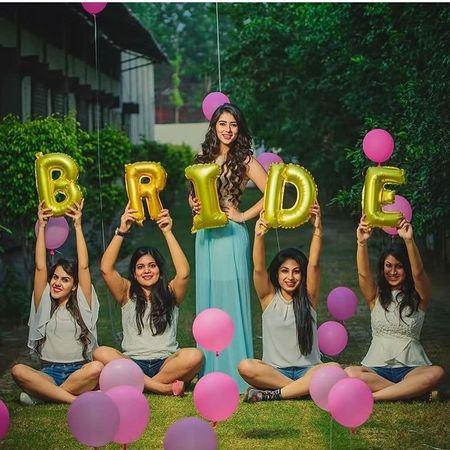 6 Fun Ideas For A Pre-Wedding Shoot With Your Bridesmaids!