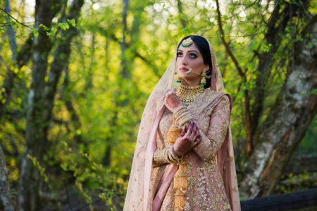 Pretty Canada Sikh Wedding With The Bride In Beautiful Outfits