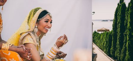 Modern Wedding In The Big Apple With A Bride in Sunny Yellow