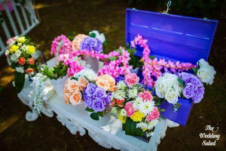 #Trending: Wedding Trunks For Budget Mehendi Decor!