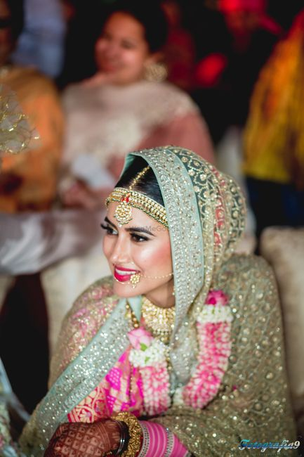 The Most Unique Bridal Dupattas We've Spotted on Real Brides!