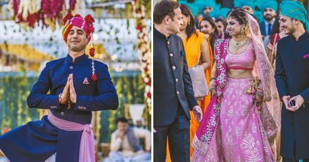 Pretty Delhi Wedding With A Chiller Bride In Pink!