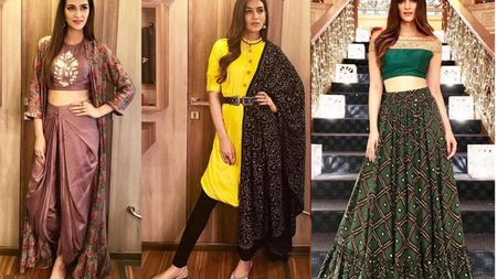 8 Totally Chic Bridesmaid Outfits We Spotted On Kriti Sanon