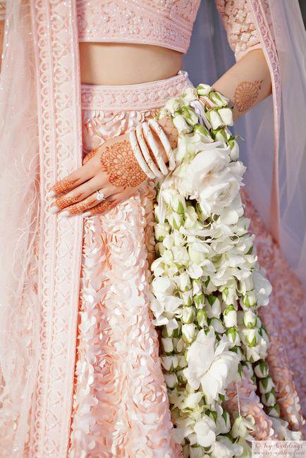 #Trending: Floral Kaleere For The Modern Bride!