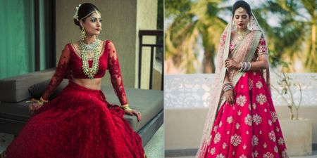 50 Sabyasachi Lehengas We Spotted on Real Brides!
