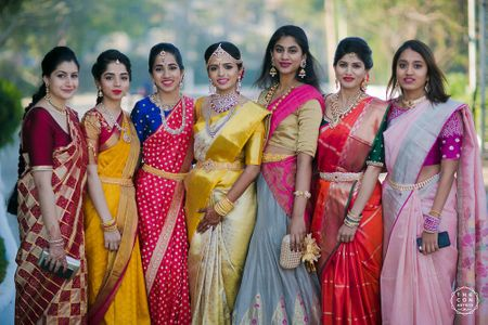 Peach & Mint Hyderabad Wedding With A Graceful Bride