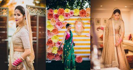 Quirky Delhi Wedding With Beautiful Sunset Pheras!