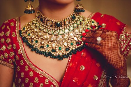 Indian Brides With Style Who Gave Us Amazing #NecklaceGoals!