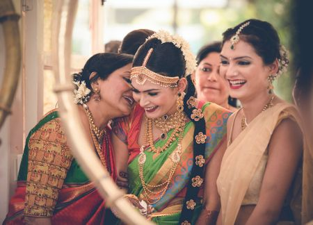 Fun South-Indian Wedding in Mumbai With A Dash Of Tradition!