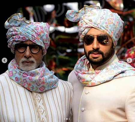 Geometric Safas: Trust The Bachchans To Give Us The Groom Trend Of The Season!