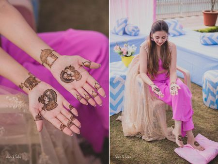 The Best Mehendi Designs We Spotted on 2017 Real Brides!
