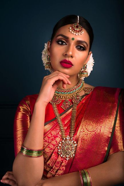 New Makeup Looks For South Indian Brides! * New & Do-able!