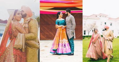 Pretty Anand Karaj  With A Tropical Mehendi!