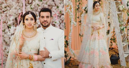 Glorious Chandigarh Wedding In Ivory & Pastels