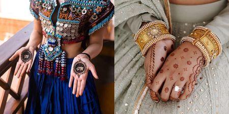 #Trending: Minimal, But Bridal Mehendi Designs