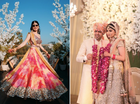 Pretty Chandigarh Wedding With An Elegant Ceremony!