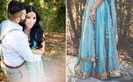 The Best Roka Outfits We Spotted On Real Brides!