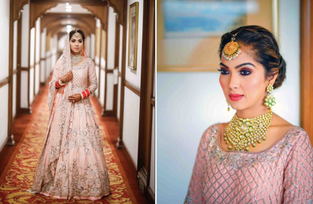 Dreamy Winter Wedding In Delhi With A Fairytale Bridal Lehenga!