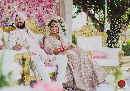 Elegant Chandigarh Wedding With A Dash Of Style!