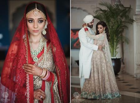 Stunning Destination Wedding In Jaipur With A Disney-Inspired Mehendi Set-up!
