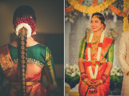 Traditional Bangalore Wedding With The Most Gorgeous Kanjeevarams Ever!
