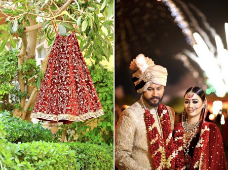 Regal Umaid Bhavan Destination Wedding With A Touch Of Glam!