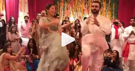 Mahira Khan At This Sangeet Is Total Dancing Bridesmaid Goals!