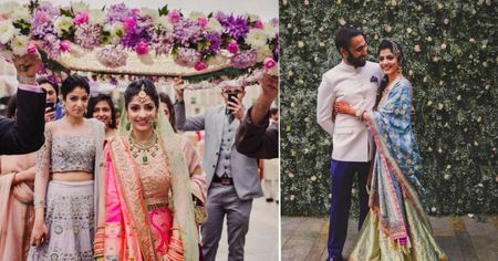 Gorgeous Delhi Wedding With A Vintage Touch And Stunning Outfits!