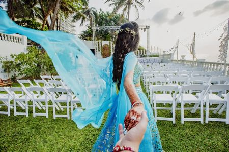 These 6 Pictures Of The Bride At Her Mehendi Are So Unique: Try Them All!
