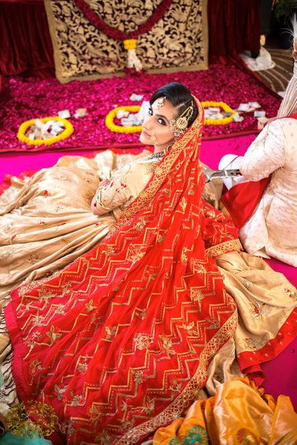 This Bride Made Her Own Outfits + Gave Very Doable Mehendi Favors...